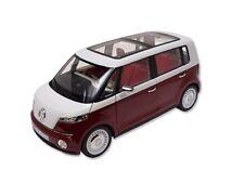 Volkswagen Bulli 1:18 Rot Transporter Future Car Concept Auto Modellauto