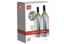 VACU VIN Weinkühler Aktiv 2 für 1 Getränkekühler Flaschenkühler Kühlmanschette