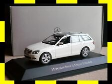 Mercedes C-Klasse T-Modell S204 Avantgarde calcit weiß SCHUCO 1:43 PROMO DEALER