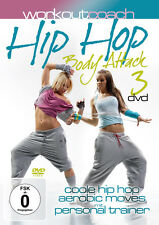 DVD Workout Coach Hip Hop Body Attack    3DVDs