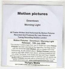 (GS465) Motion Pictures, Downtown / Morning Light - 2006 DJ CD