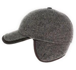 Basecap Wegener Herren Baseballcap mit Ohrenklappen Wintercap Mütze Cap Winter