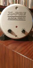 MUSICAL FIDELTY X-PRE, class A tube preamplifier