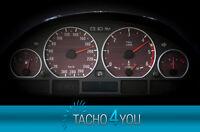 Tachoscheiben für BMW 300 kmh Tacho E46 Diesel M3 Holz 3322 Tachoscheibe km/h