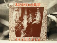"FLESH FOR LULU - RESTLESS 12"" EP NEAR MINT UK 1984 POLYDOR FFLX 2 NEW WAVE GOTH"