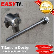 EasyTi Titanium Seatpost 25.4mm/ 22.2mm for Bicycle Road Bike Cycling MTB