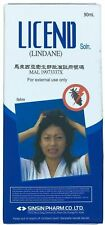 Licend Lindane Shampoo Hair treatment of head lice, crab lice and Scabies 90ml