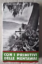 L77> Con i primitivi delle Mentawai di Aurelio Cannizzaro anno 1962