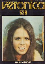 VERONICA 1974 nr. 02 - URIAH HEEP / MARY OSMOND / BLACK SABBATH / KO VAN DIJK