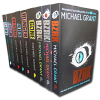 Gone series Michael Grant Collection 9 Books Set Light Hunger Lies Plagu