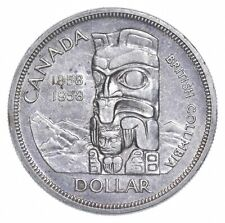 Better Date - 1958 Canada 1 Dollar - SILVER *572