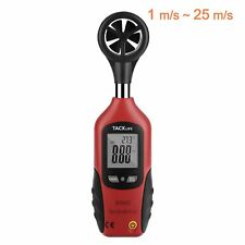 Tacklife DA02 Klassischer Anemometer Digital Windmesser 196-4900 ft/min