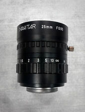 Used Navitar F0.95 fast lens, 25 mm focal length, C-mount