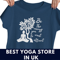Ladies Women yoga T shirt yoga outfit women top vest yoga meditation vegan shirt