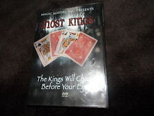 RARE VGC DVD GHOST KINGS The Kings Will Change Before Your Eyes CARD MAGIC Maker