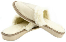 New Women's House Soft Sheep Wool Natural Sheepskin Slippers Shoes Cozy Foot
