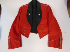 Regimental Mess Dress Jacket with Salamanca Eagle Buttons & Lapel Pins