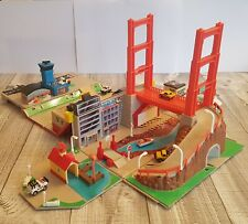 Vintage 1988 Micro Machines Super City Toolbox and More Bundle by Galoob. RARE!