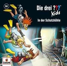 CD * DIE DREI ??? (FRAGEZEICHEN) KIDS - 64 - IN DER SCHATZHÖHLE # NEU OVP =
