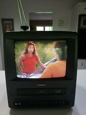 """Symphonic SC3809 9"""" tv-vcr combo Great for Gaming and Retro Works Great (VIDEO)"""