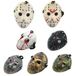 Halloween Mask Jason Voorhees Horror Movie Hockey Costume Party Cosplay Decor