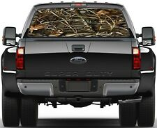 Duck Waterfowl Camo Ver1 Painting Rear Window Graphic Decal for Truck Van Car