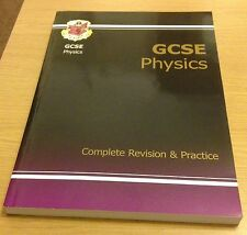 GCSE PHYSICS Complete Revision & Practice Book (CGP Paperback) NEW