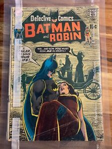 DETECTIVE COMICS ft: BATMAN & ROBIN #403 You Die By Mourning Sep 1970