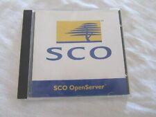 1996 SCO Unix OpenServer 5 CD 200-920-101
