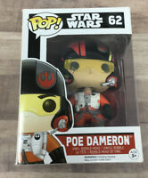 Funko Pop Bobblehead Star Wars The Force Awakens  #62 Poe Dameron A04