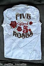 bonito camisa camiseta de tirantes blanco KAPORAL 5 talla 12 años