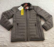 Brand New Wellenstyn Molecule Man Functional Stylish Full Zip Jacket Grey S $219