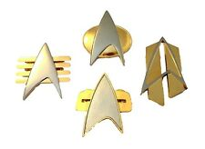 Full Size Communicator Metal Enamel Pins Star Trek Movie Set of 4