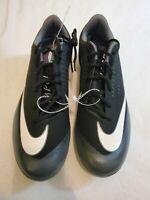 Nike Lunar Vapor Ultrafly Elite 2 Size 12 Baseball Cleats Black Men's AO7946 011