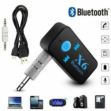 X6 Bluetooth Receiver 3.5mm Jack Car AUX Audio Wireless Adapter Car Kits Connect