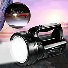 USB Rechargeable Handheld LED Searchlight Spotlight Outdoor Camping Hiking Light