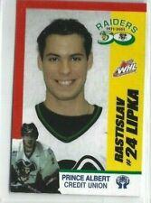 2001-02 Prince Albert Raiders (WHL) Rastislav Lipka