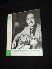 MAGAZINE JAZZ HOT N° 60  Novembre 1951 - JEAN BONAL