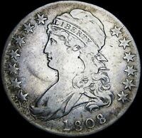 1808 Capped Bust Half Dollar   ---- Nice Type Coin ---- #G840