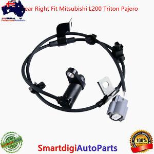 Rear Right ABS Wheel Speed Sensor For Mitsubishi L200 Triton Pajero Fit MN102578