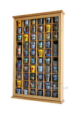 56 Shot Glass Display Case Holder Cabinet  Rack Wall Shadow Box SC56-OA