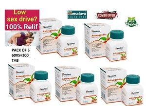 Himalya Ashwagandha 100% pure  herbal immunity booster pack of 5x60 =300 tab