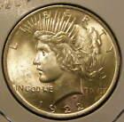 BU 1922 Peace Dollar 90% Silver Very Nice 130923-15