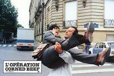 JEAN RENO CHRISTIAN CLAVIER L'OPERATION CORNED BEEF 1990 PHOTO D'EXPLOITATION 3