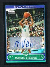 Marcus Vinicius 2007 Topps Chrome Rookie signed autograph auto Basketball Card