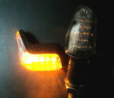 ?4X NEW LED CARBON TURN SIGNAL VISIBLE FROM SIDE HARLEY VROD VRSCA VRSCD V-ROD ?