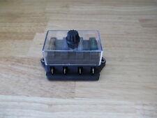 VINTAGE OLD DASH PANEL FOUR ATC FUSE BOX HEATER FOG LIGHT BOAT HOT RAT ROD SCTA