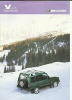 LAND ROVER AVIMORE DISCOVERY SPECIAL EDITION SALES BROCHURE/SHEET 1997
