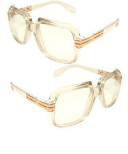 Clear frame Clear Lens Hipster Square Sun Glasses with Metal Accent dmc