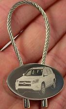 Toyota rav 4 porte clés keyring rav4 fotogravur Mod. 2011 porte clefs